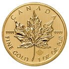 Canadian Gold Maple Leaf Coin 1oz
