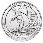 America the Beautiful - Fort Moultrie Quarter 5oz