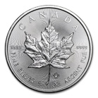 Canadian Silver Maple Leaf Coin 2017 1 oz
