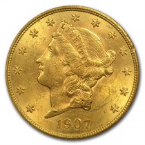 Liberty $20 gold coin