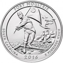 America The Beautiful - 5oz Fort Moultrie