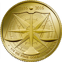 2016 .25oz British £25 Gold Standard
