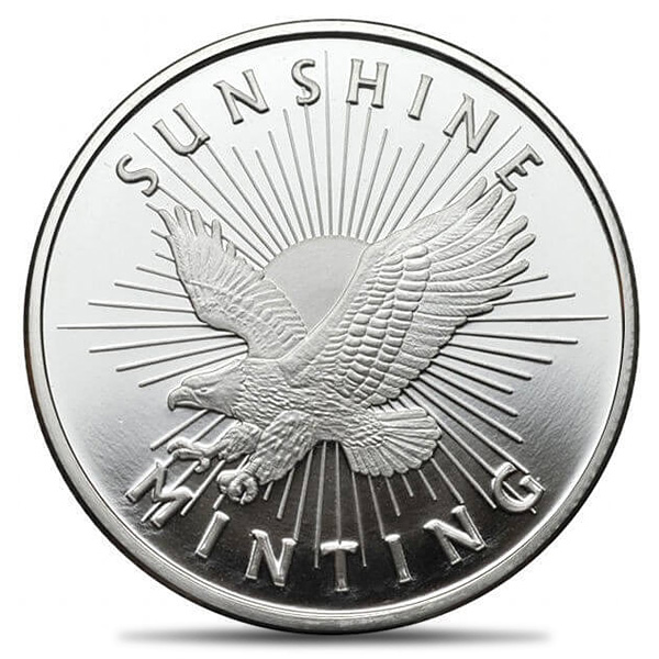 Silver Round 1oz - Our Choice Hallmark