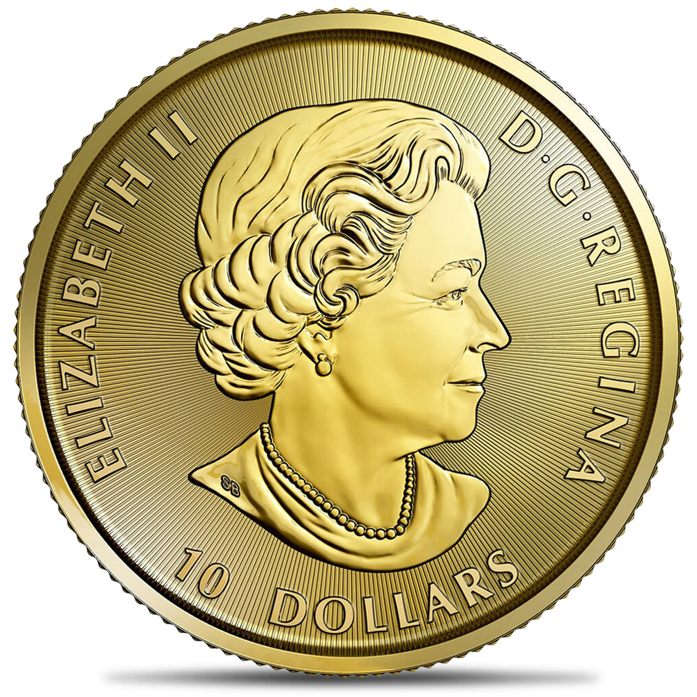 2017 Royal Canadian Mint .25oz Gold Eagle