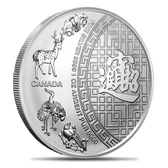 Canadian Silver 5 Blessings 1oz