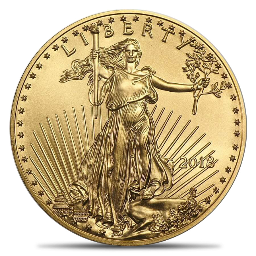 Gold American Eagle 1oz BU (Random Year)