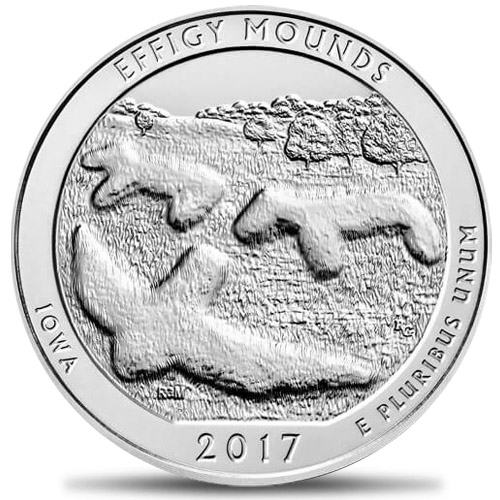 America The Beautiful - 5oz Effigy Mounds