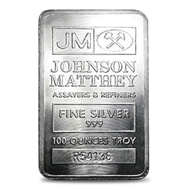 Silver Bar 100oz - Our Choice Hallmark
