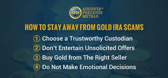 Augusta Precious Metals Scam Guide to Stay Away from Gold IRA Fraud