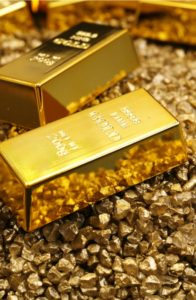 Stock in Mines Confirms Gold's Glitter