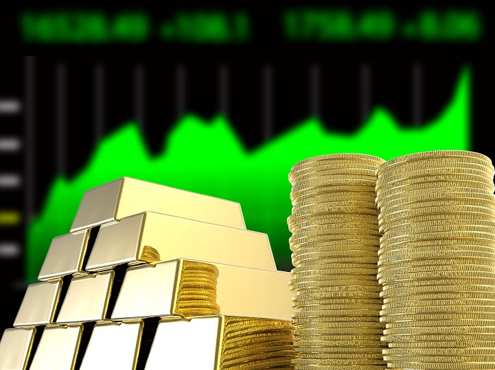 """Gold Bullion Shows Its """"Metal"""" as Solid Performer With Stocks"""