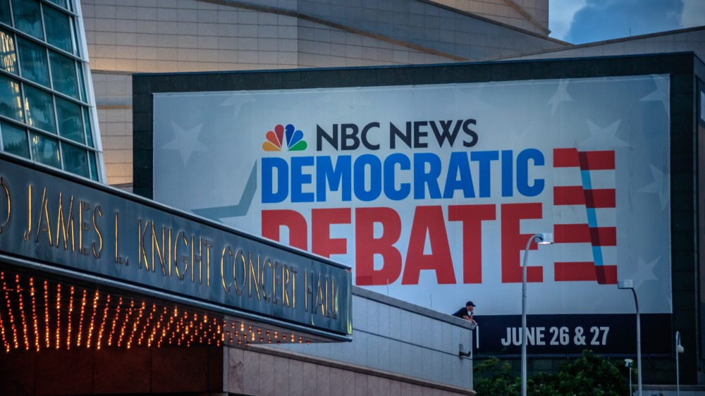 First Democratic Debates: National Debt Rising